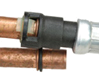 Heater hose connecter